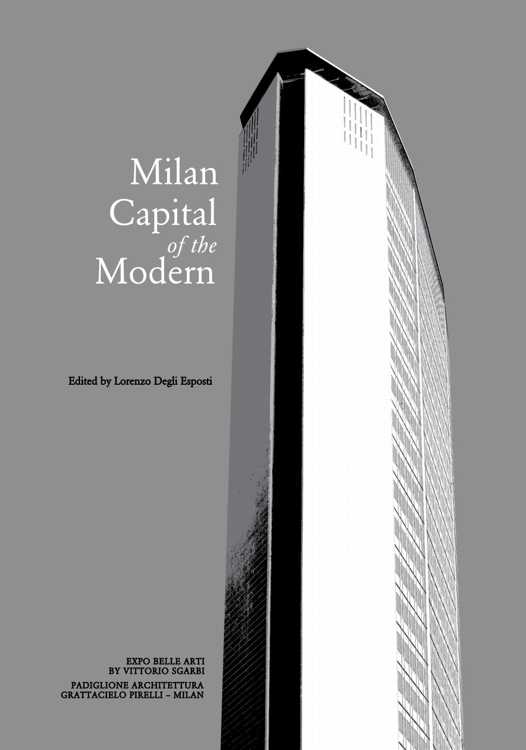 Alessandra Bianchi Architetto mcm. milan capital of the modern by actar publishers - issuu