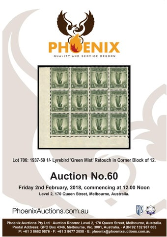 b792a3055f8089 Auction 60 Text by Phoenix Auctions Pty Ltd - issuu
