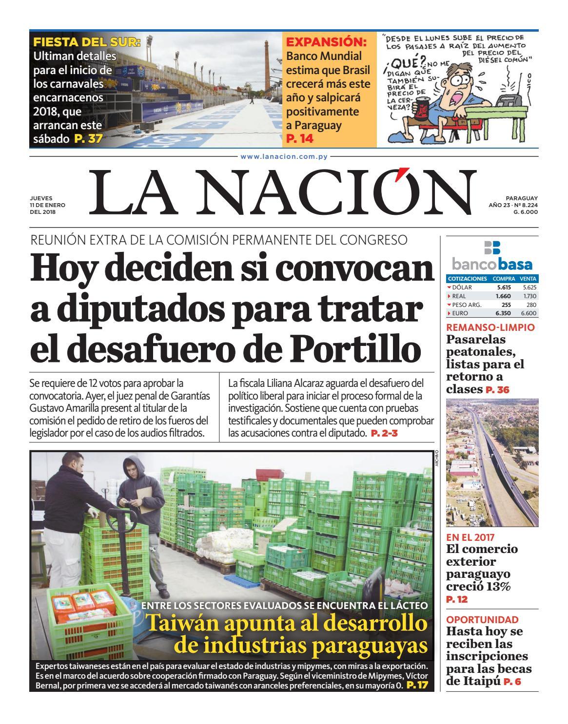 DIARIO LA NACIÓN - EDICIÓN 8.224 by La Nación - issuu