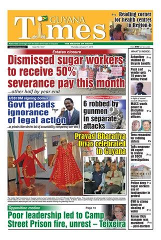 Guyanatimes 11 january 2018