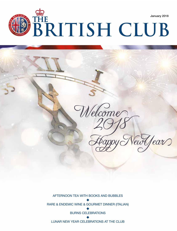 The British Club January Magazine 2018 by The British Club - issuu