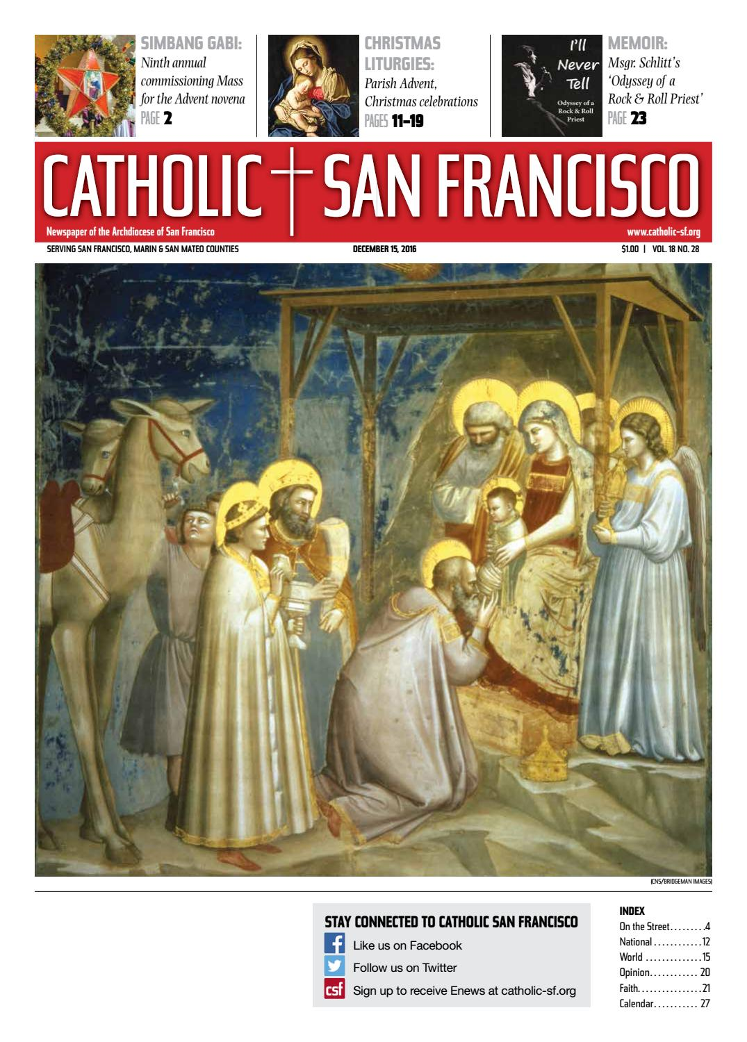 St Francis Assisi Church In Castle Rock Book Knights Of Columbus Give As Christmas Gift In 2020 December 15, 2016 by Catholic San Francisco   issuu