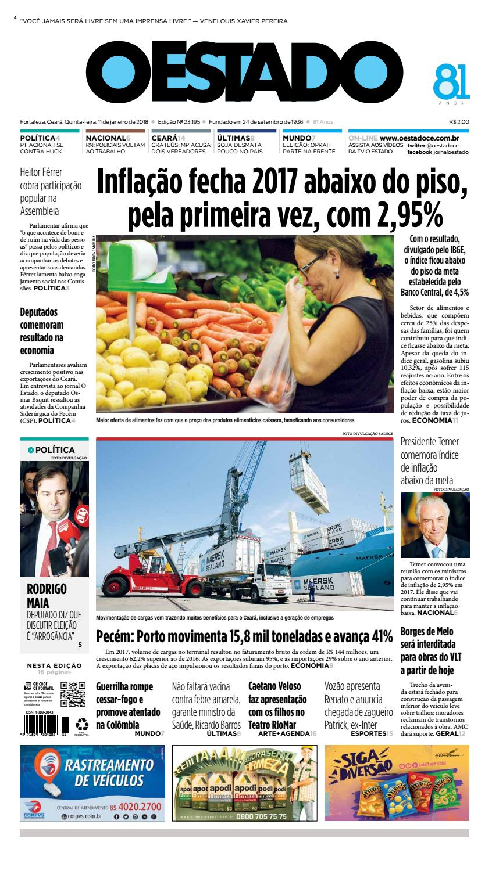 b485b1d8c1ef3 11 01 2017 -Edição 23192 by Jornal O Estado (Ceará) - issuu