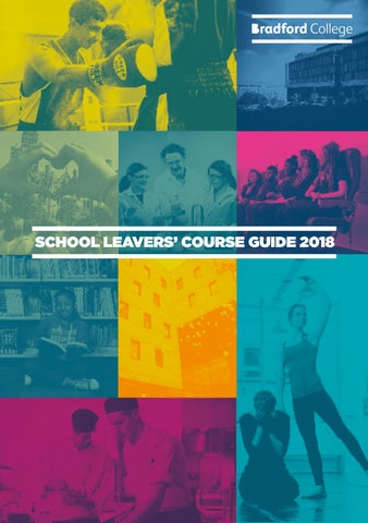 SCHOOL LEAVERS' COURSE GUIDE 2018