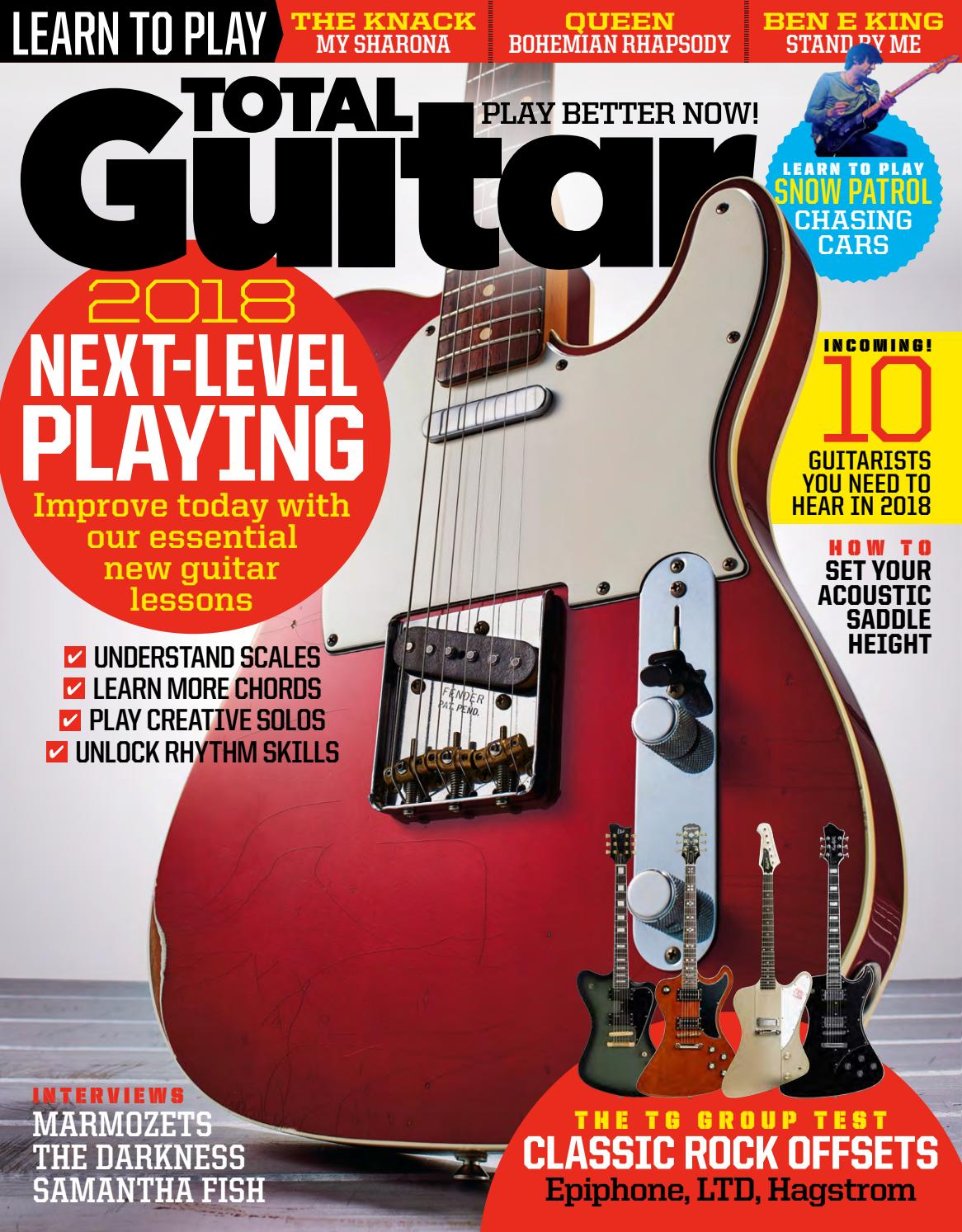 Total Guitar 302 Sampler By Future Plc Issuu