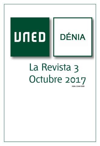 La Revista Número 3 Centro Asociado Uned Dénia By Uned