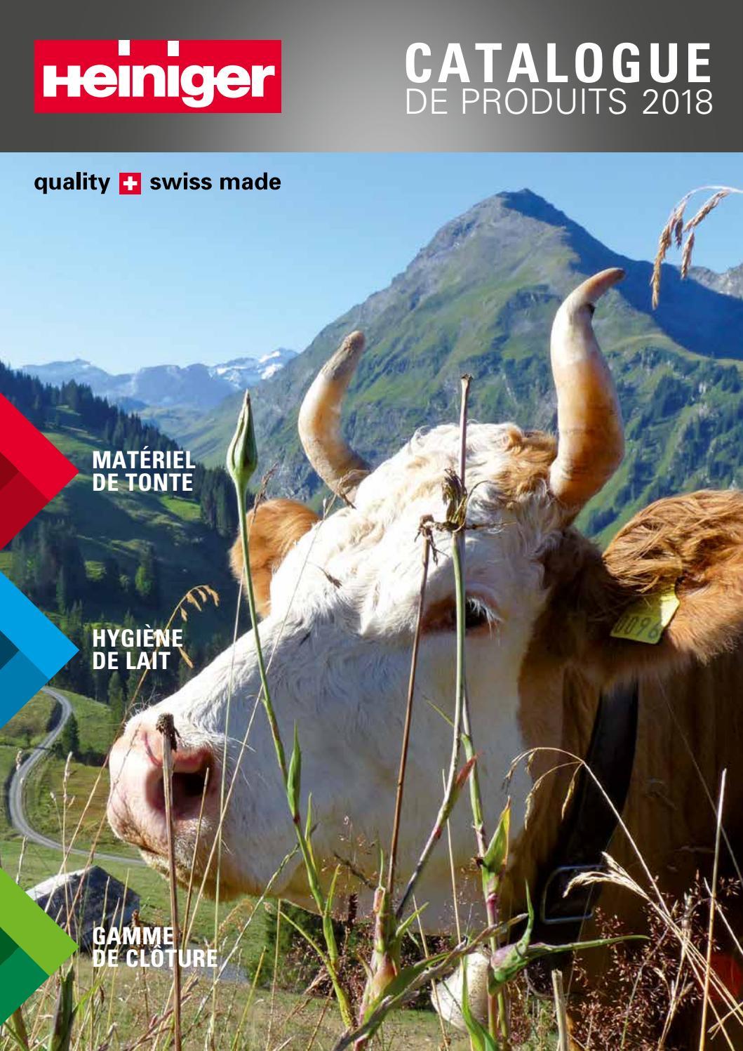 Tondeuse HEINIGER Delta 3/230/V 180/W pour bovins et chevaux