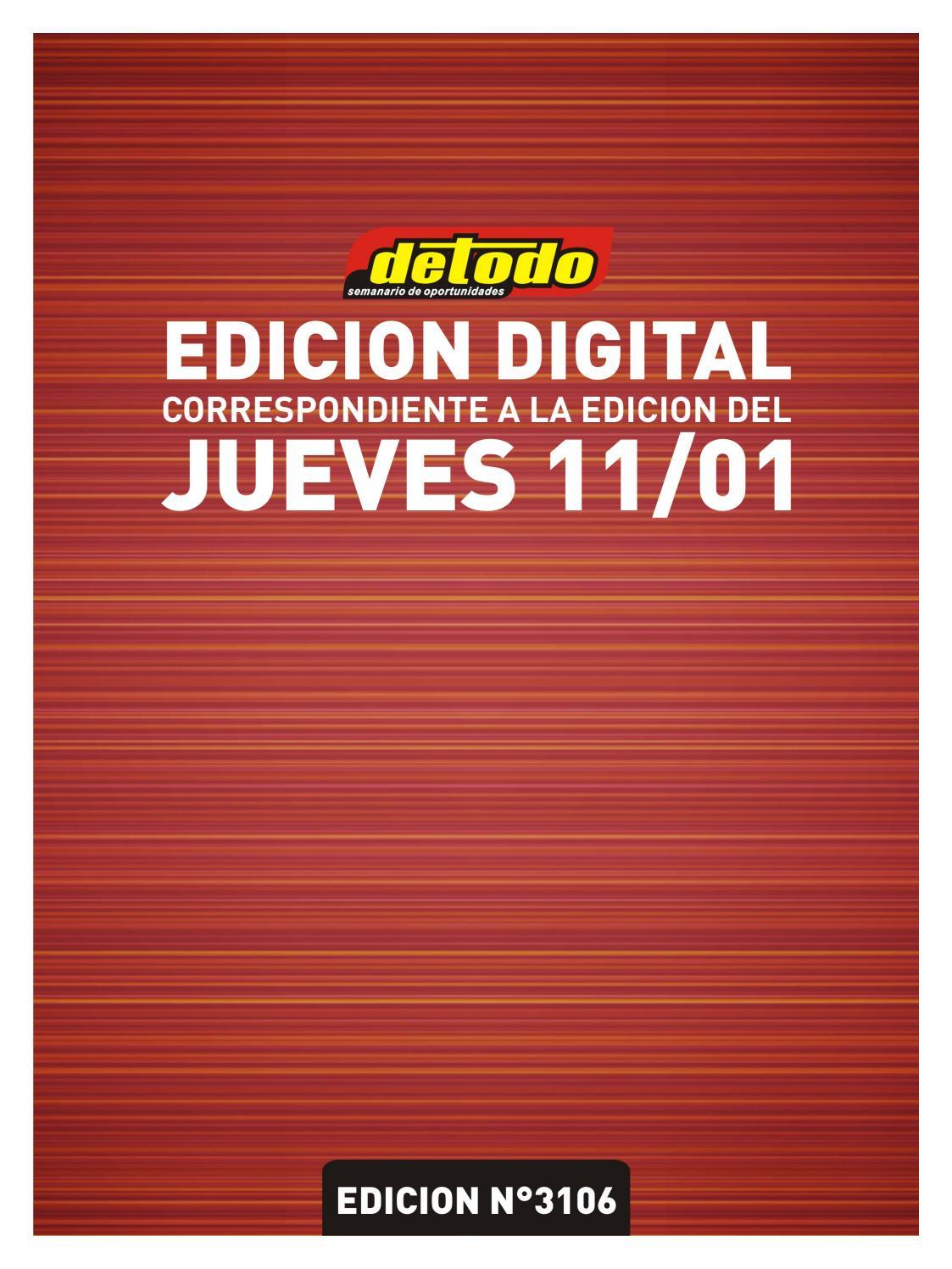 By 11012018 Semanario Detodo 3106 N° Edición nON0wvm8y