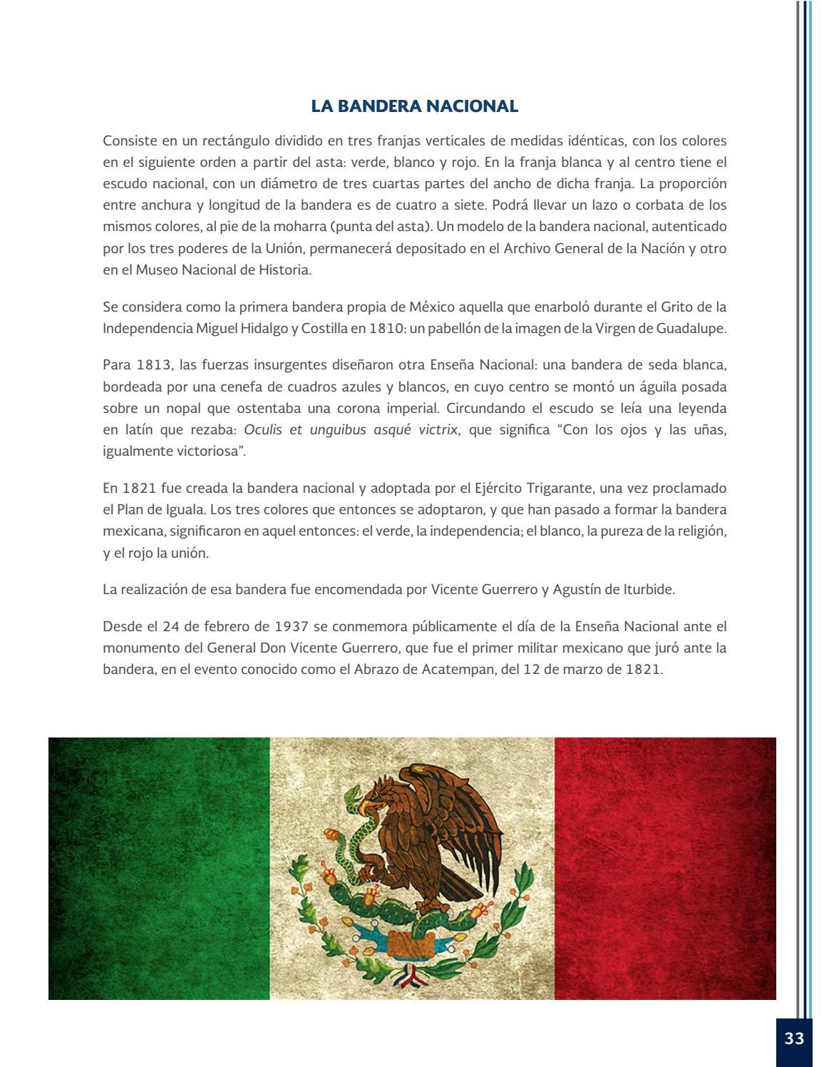 Que significan los colores dela bandera mexicana