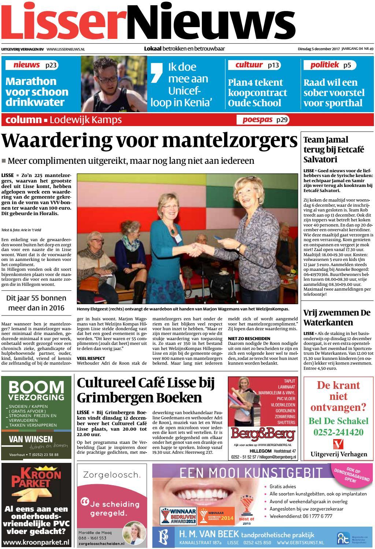 Ik Hou Van Holland Zitzak.Ln Week 49 17 By Uitgeverij Verhagen Issuu