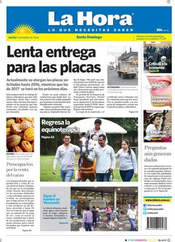 Websantodomingo11enero2018 by Diario La Hora Ecuador - issuu 3986788724f