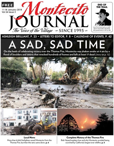 A Sad, Sad Day by Montecito Journal - issuu