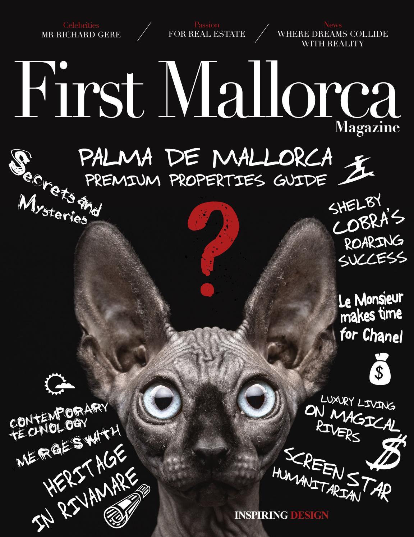 First Mallorca Magazine 2017 2018 Edition By First Mallorca Issuu