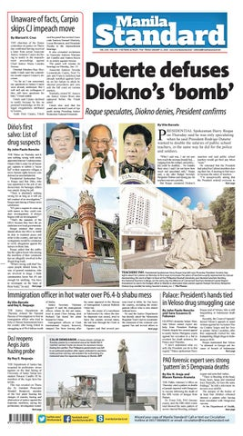 Manila Standard - 2018 January 12 - Friday