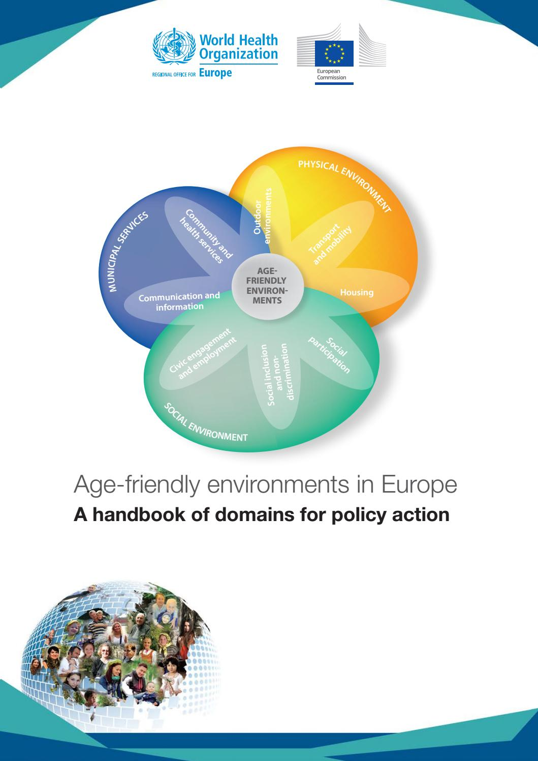 Age-friendly environments in Europe  A handbook of domains