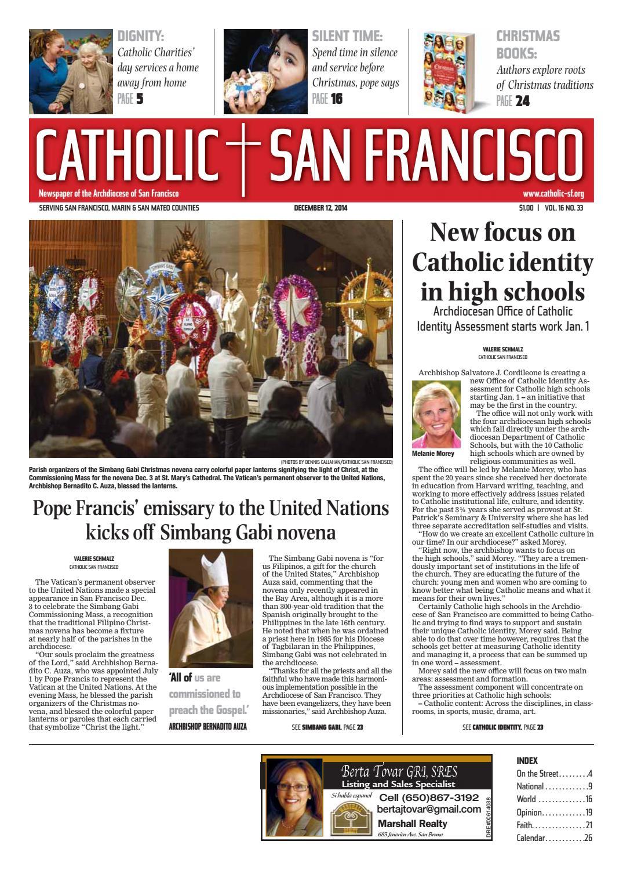 St Kasmir Christmas Eve Mass 2020 In St Paul Mn December 12, 2014 by Catholic San Francisco   issuu