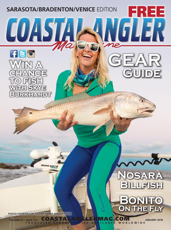 Coastal Angler Magazine January Sarasota By Coastal Angler  # Lift Motorise Erard