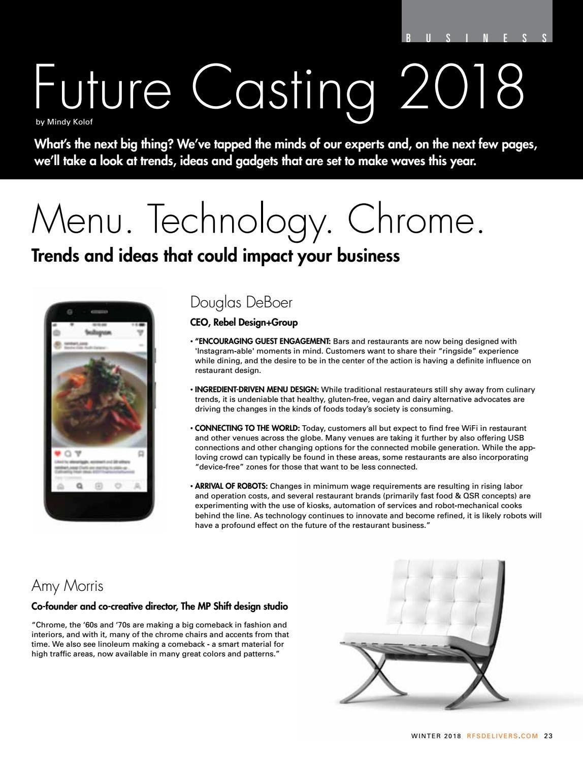 Restaurant Inc  Winter 2018 by Reinhart_Publications - issuu
