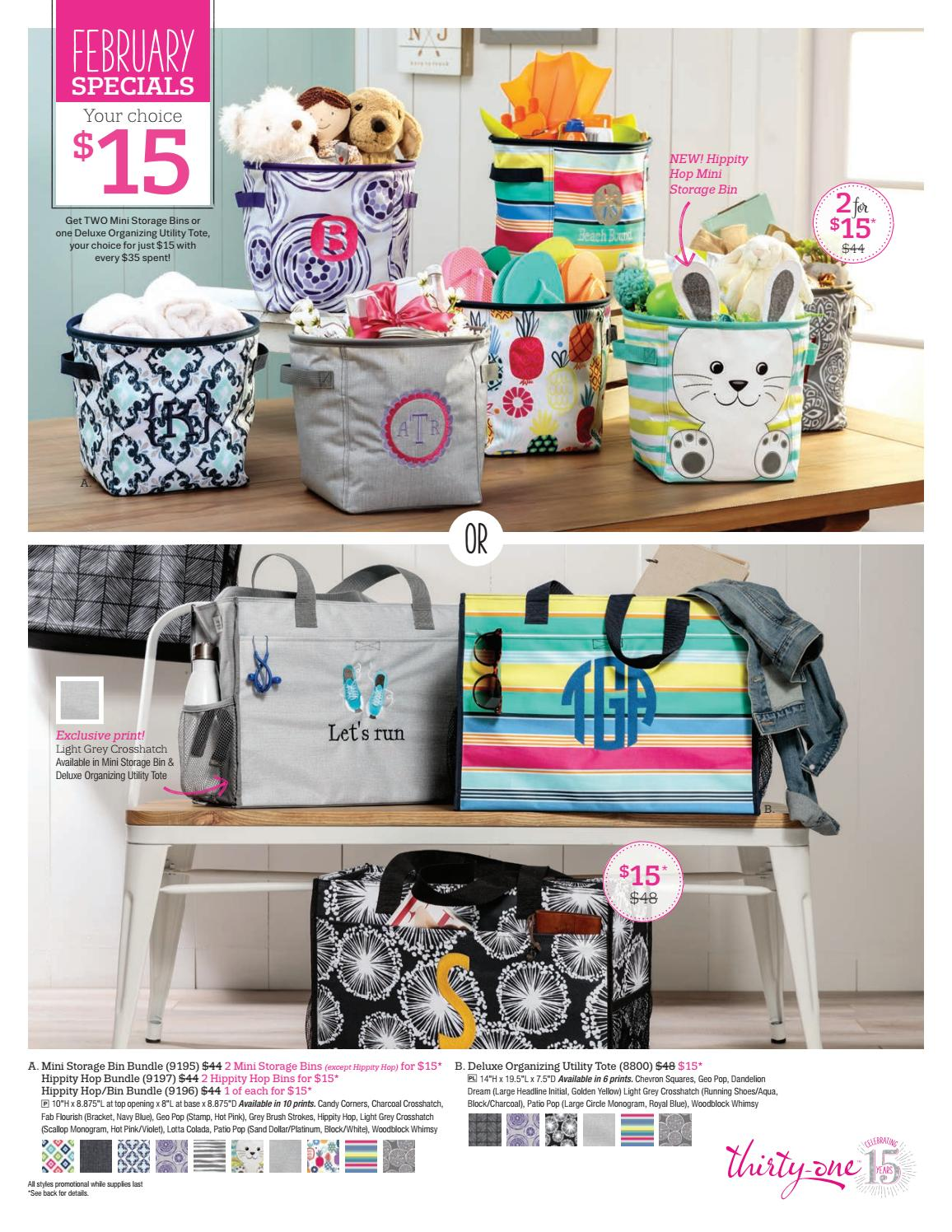 Thirty One Gifts September Customer Special 2017 By Kristinmoses Issuu