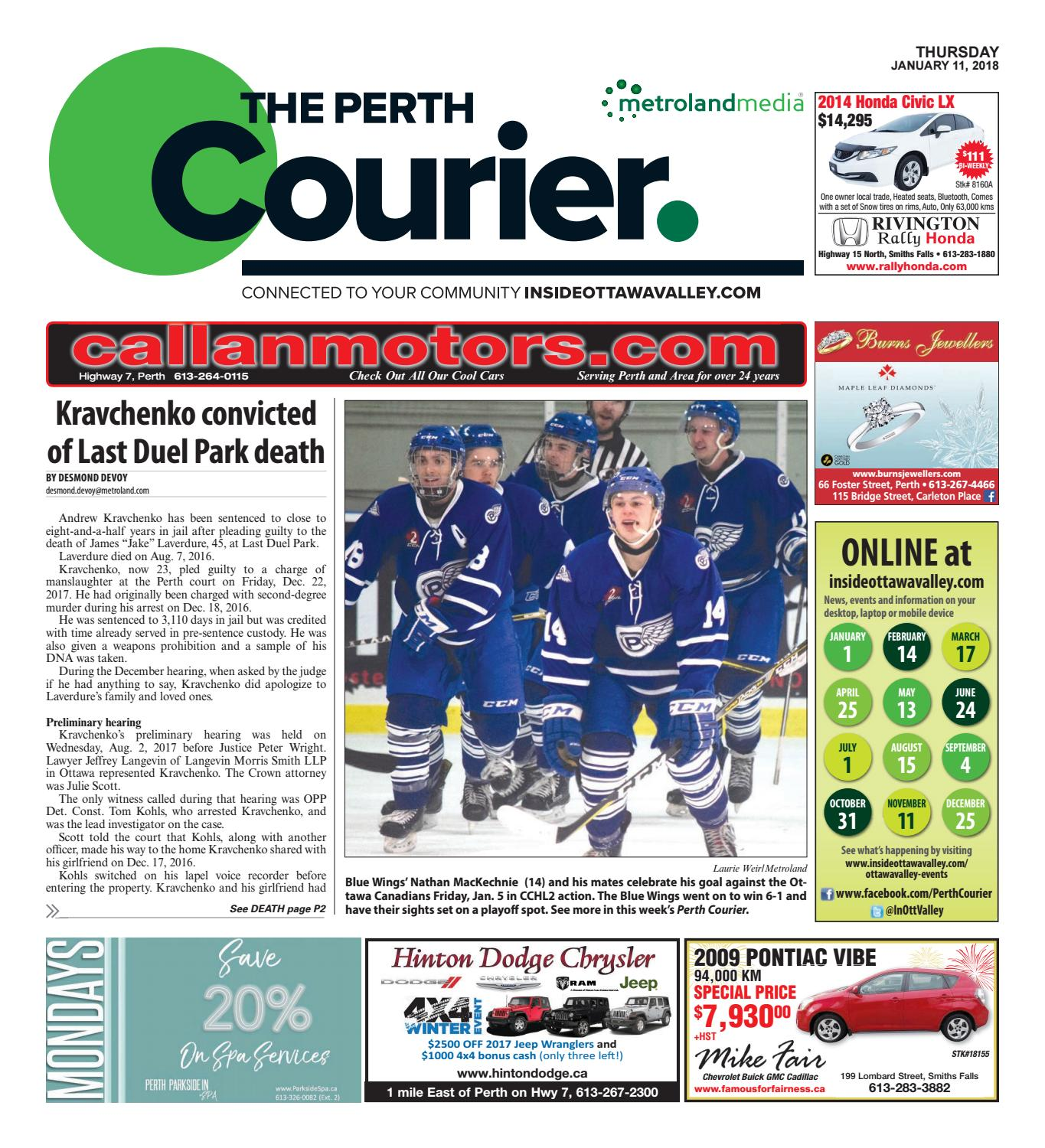 150aa249f4ef Perth011118 by Metroland East - The Perth Courier - issuu