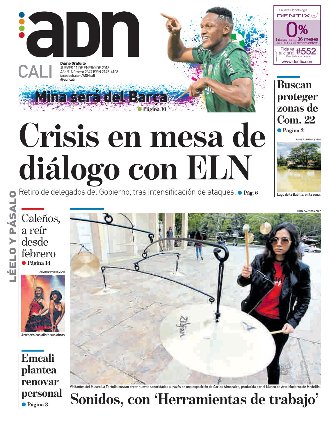 ADN Cali 11 de enero by diarioadn.co - issuu
