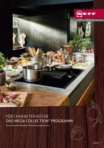 Fur Charakter Koche Das Megacollection Programm By Neff Issuu