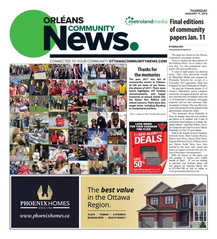 Orleans011118 by Metroland East - Orleans News - issuu