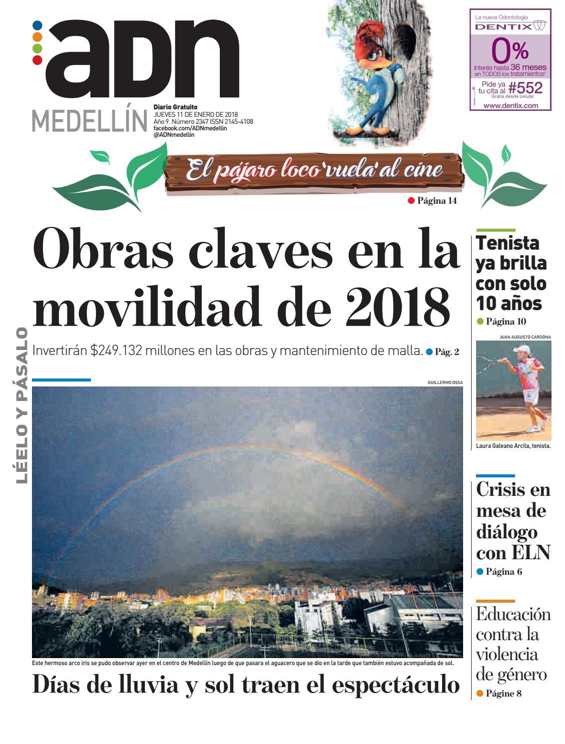 ADN Medellín 11 de enero by diarioadn.co - issuu