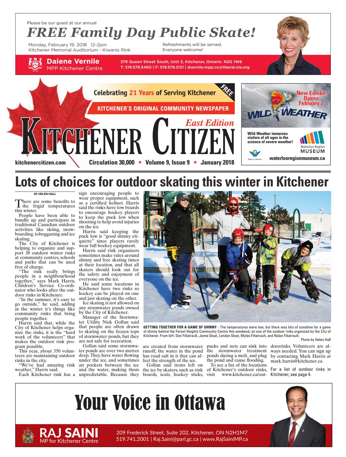 Kitchener Citizen - East Edition - January 2018 by Kitchener Citizen ...