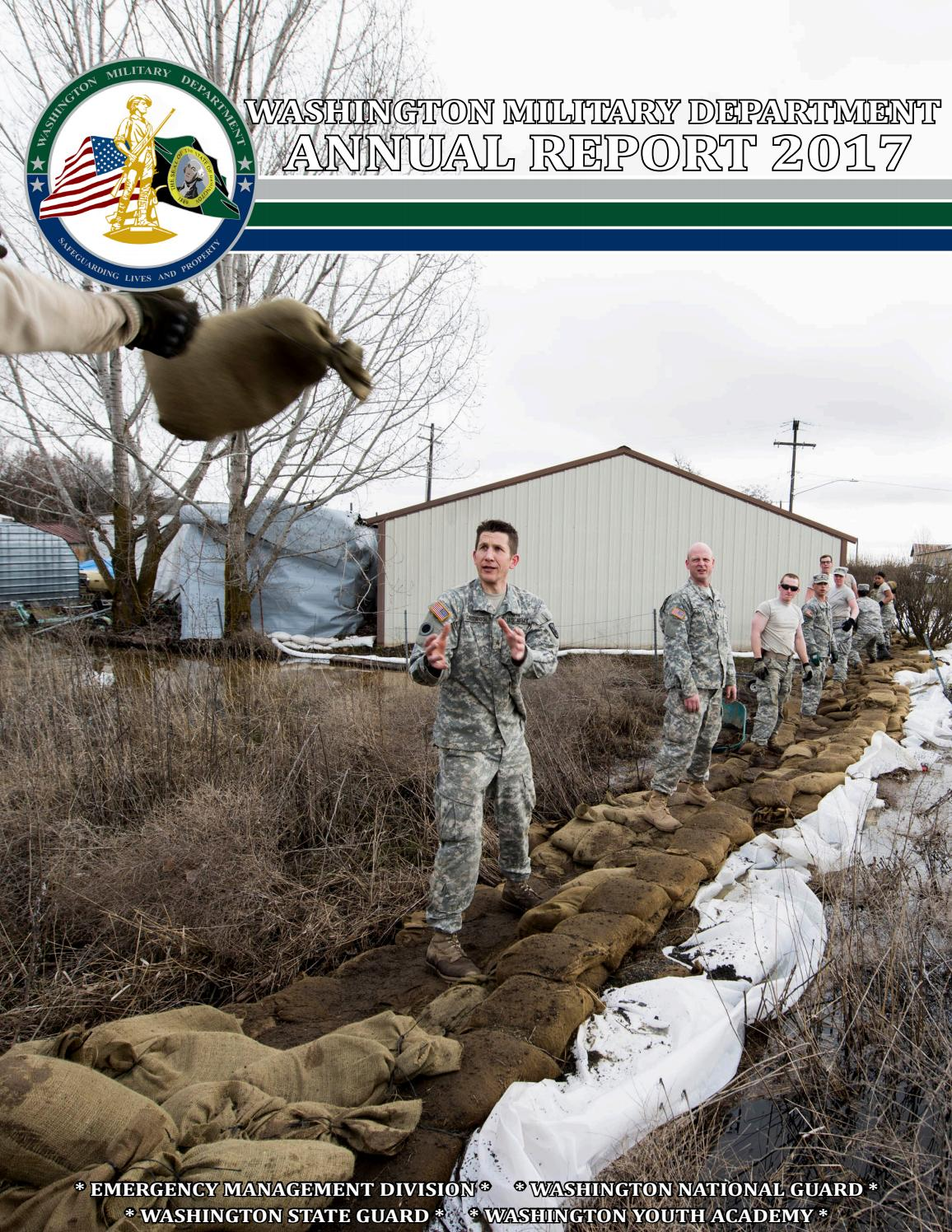 2017 Washington Military Department Annual Report by