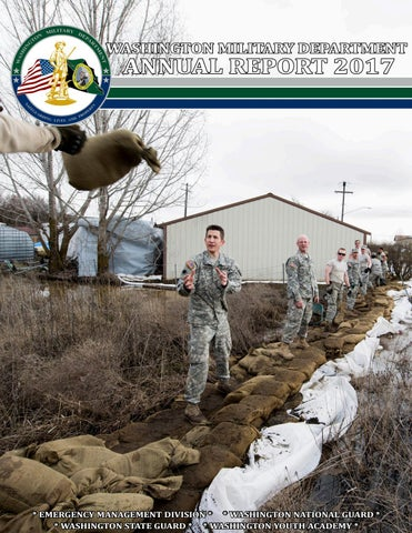 2017 Washington Military Department Annual Report By Washington