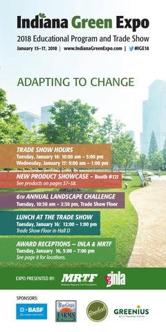 Indiana Green Expo 2018 Show Program