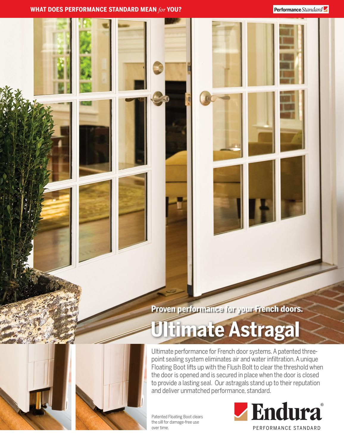 Endura Utimate Astragal By Clearymillwork Issuu