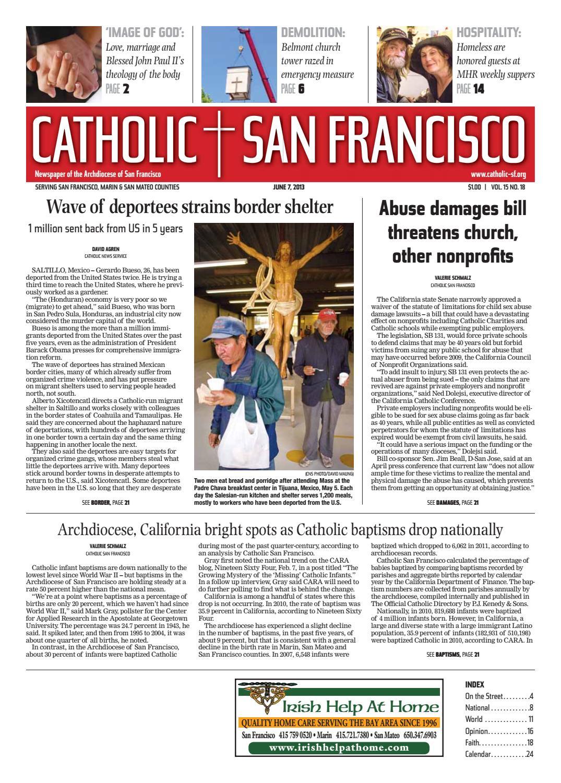 June 7, 2013 by Catholic San Francisco - issuu