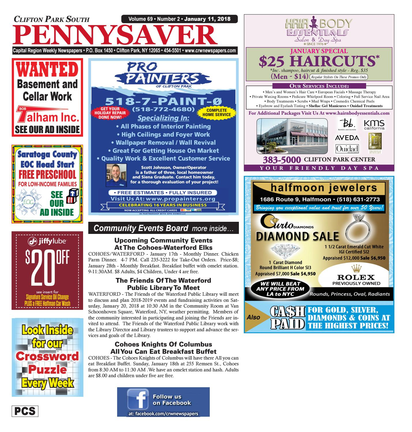 Clifton Park South Pennysaver by Capital Region Weekly