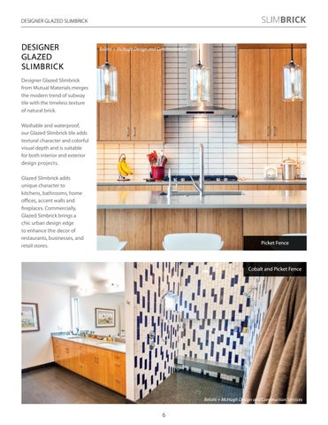 Page 6 of Home Design Trend: Glazed Brick Walls
