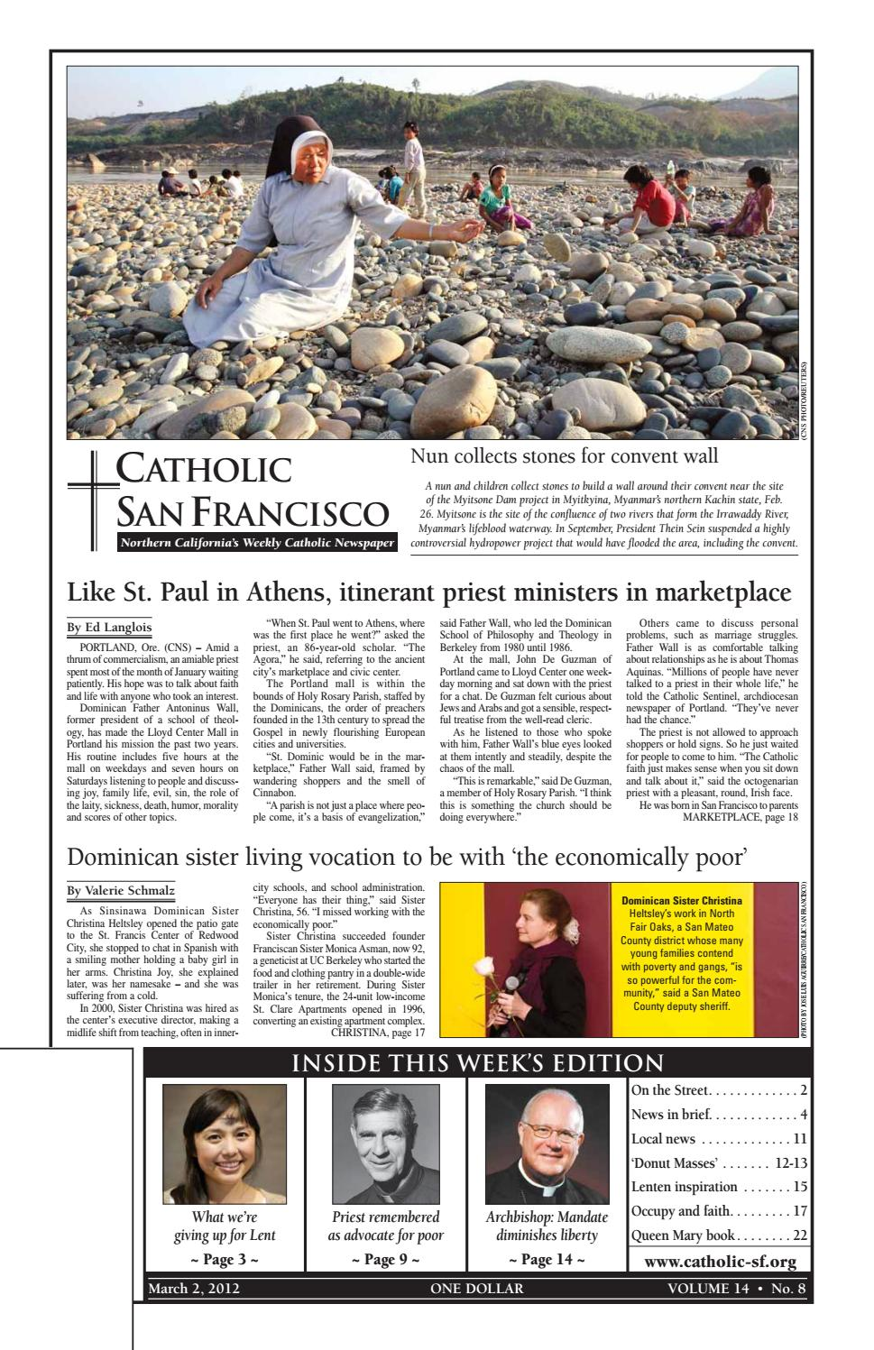 March 2 2012 By Catholic San Francisco Issuu