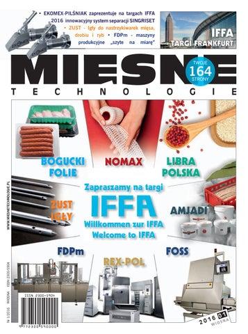 10b0a8f319e26 Mięsne technologie WIOSNA 2016 (I) by Womat - media czasopisma dla ...