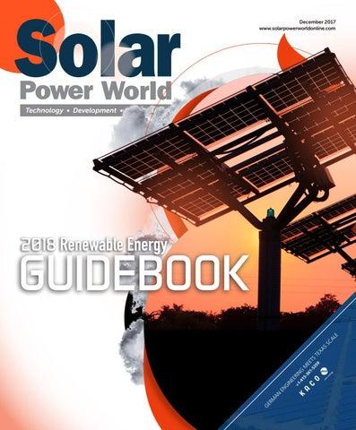 2018 Renewable Energy Guidebook Solar By WTWH Media LLC