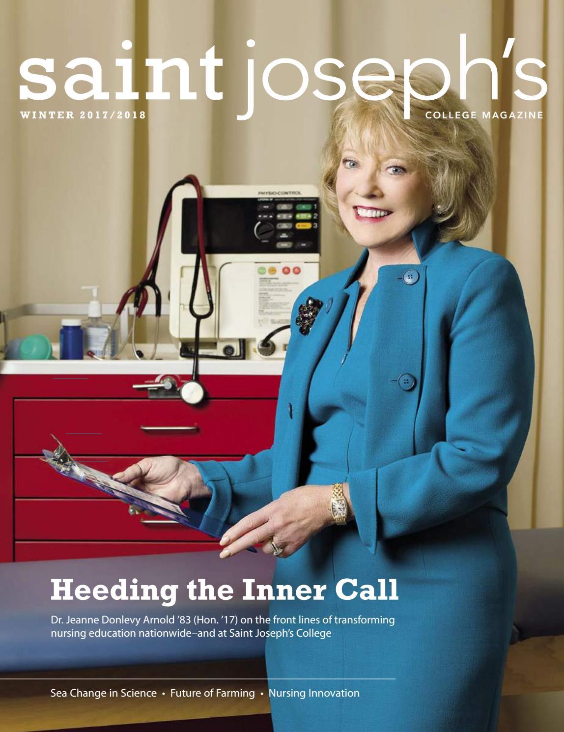 Saint Joseph's College Magazine Winter 2017-18 by Saint Joseph's