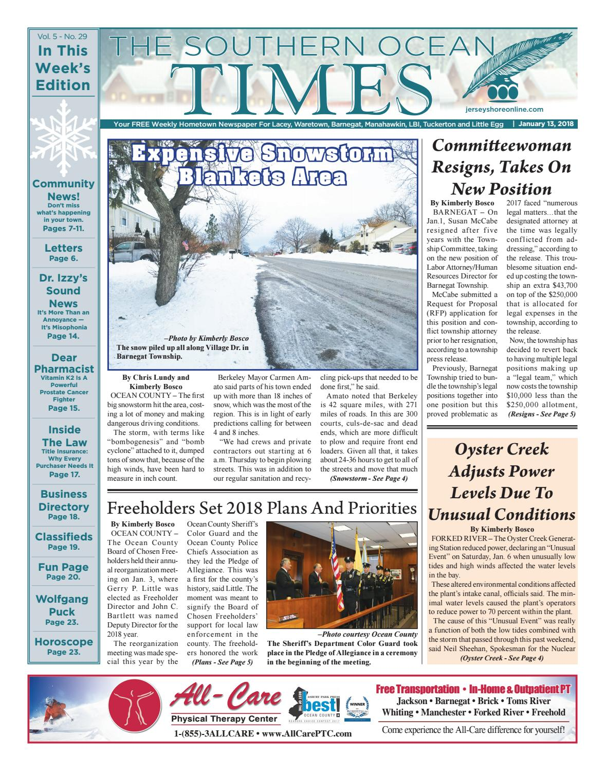 2018-01-13 - The Southern Ocean Times by Micromedia