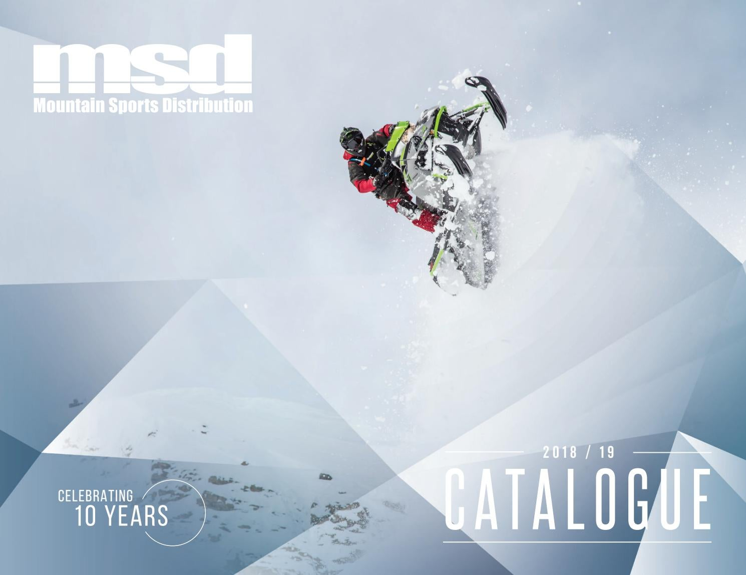 fda3731f9b7 MSD 2018-19 Catalogue by Mountain Sports Distribution - issuu