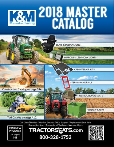 2018 K&M Tractor Catalog by K&M - issuu