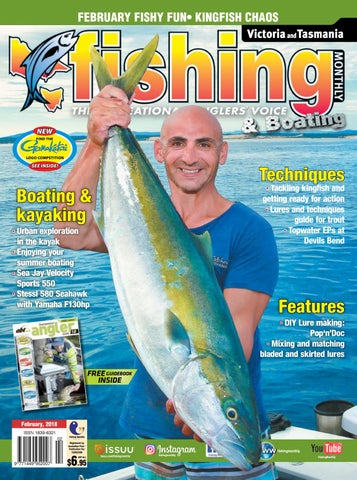 37479edb2e1 Vic Tas Fishing Monthly February 2018 by Fishing Monthly - issuu
