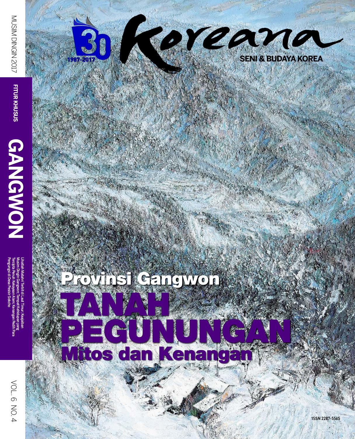Koreana Winter 2017 Indonesian By The Korea Foundation Issuu