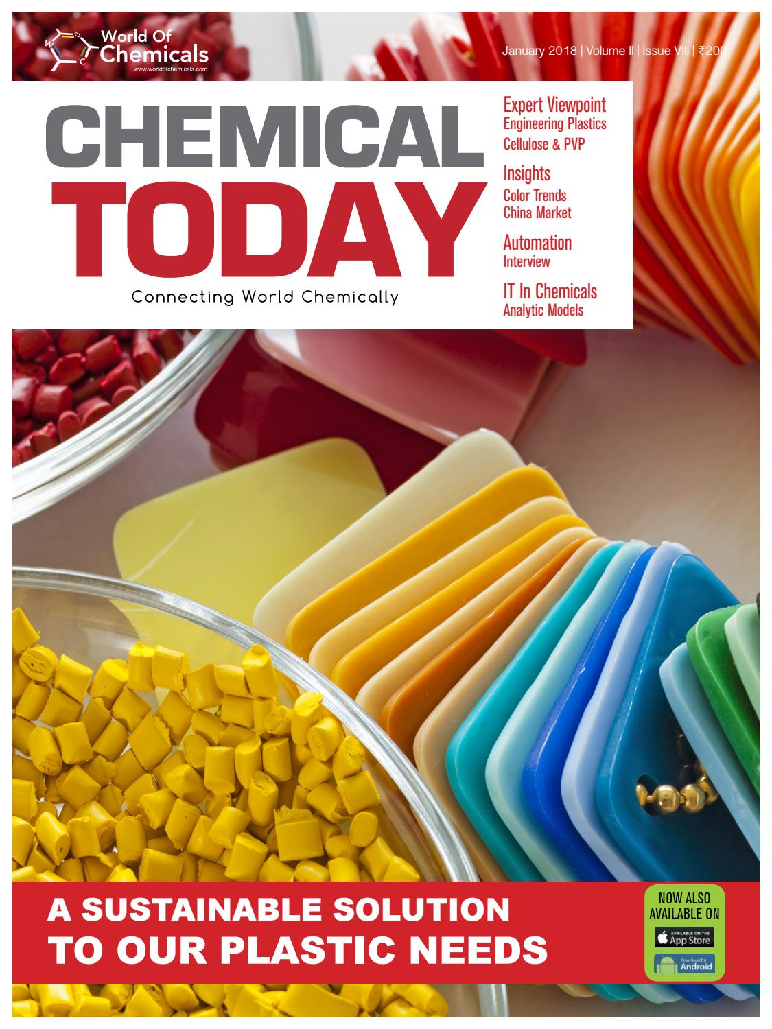 Chemical Today January By Worldofchemicalscom Issuu Maruti 800 Technical Issues And Solutionsacwiringjpg