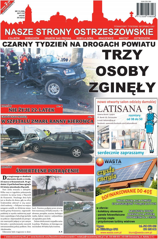 4a5e2b8ed3deba NASZE STRONY OSTRZESZOWSKIE 13/2017 by Nasze Strony Ostrzeszowskie - issuu