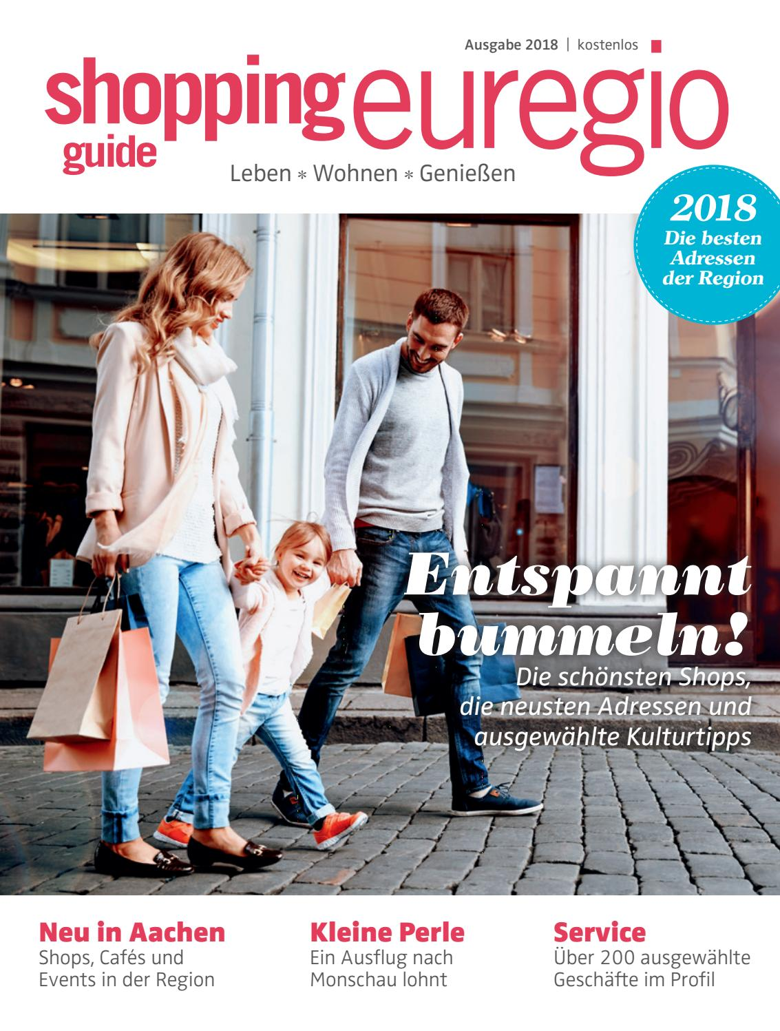ShoppingGuide Euregio 2018 by print'n'press Verlag issuu