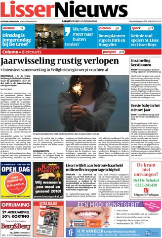 c7d37528ee9 Ln week 01 18 by Uitgeverij Verhagen - issuu