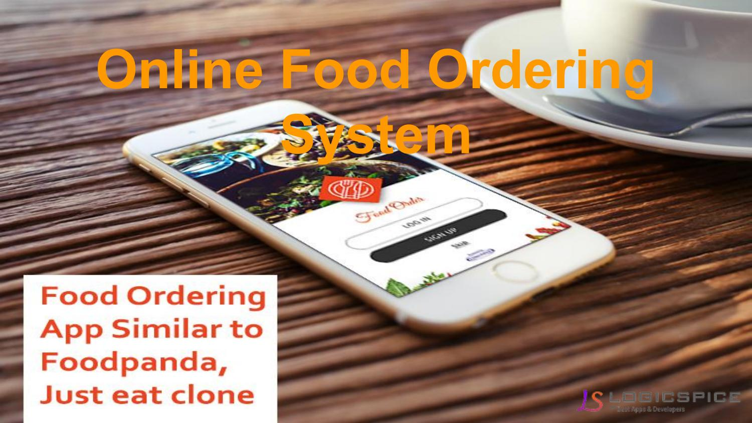 Logicspice - Online food ordering system   Food Ordering Software by